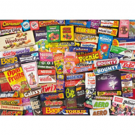 1980's Sweet Memories- Jigsaw Puzzle